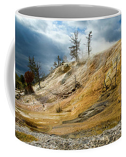 Stormy Skies At Mammoth Coffee Mug by Steve Stuller