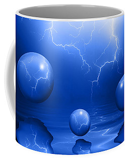 Stormy Skies - Blue Coffee Mug