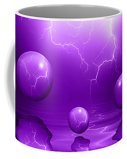 Stormy Skies - Purple Coffee Mug