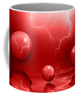Stormy Skies - Red Coffee Mug