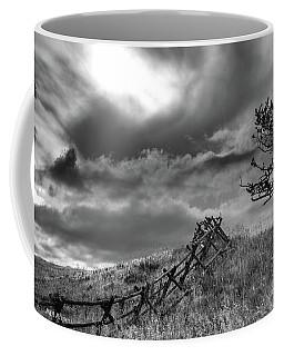 Stormy Sky At The Ranch Coffee Mug