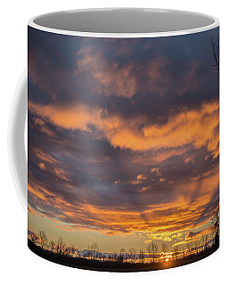 Stormy Sky Sunrise Coffee Mug