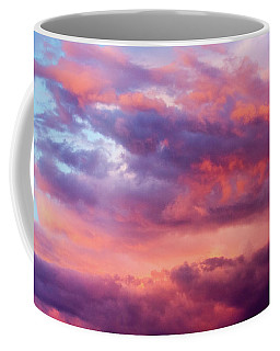 Coffee Mug featuring the photograph Stormy Southwest Sunset Horizontal by SR Green