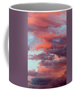 Coffee Mug featuring the photograph Stormy Southwest Sunset Vertical by SR Green