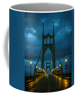 Stormy St. Johns Coffee Mug by Wes and Dotty Weber