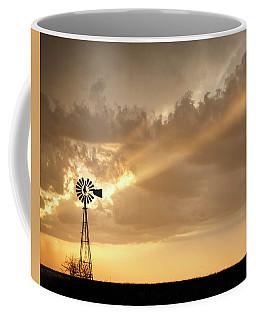 Stormy Sunset And Windmill 02 Coffee Mug