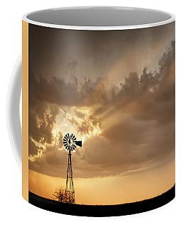 Stormy Sunset And Windmill 03 Coffee Mug