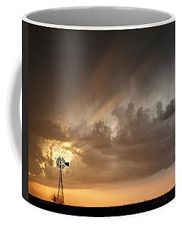 Stormy Sunset And Windmill 06 Coffee Mug