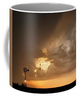 Stormy Sunset And Windmill 07 Coffee Mug