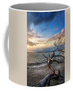 Coffee Mug featuring the photograph Stormy Sunset by Marvin Spates