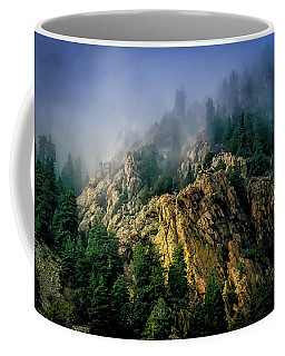 Stormy Wasatch- Fog Coffee Mug