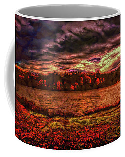 Coffee Mug featuring the photograph Stormy Weather by John M Bailey