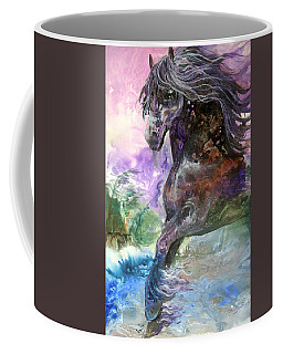 Stormy Wind Horse Coffee Mug