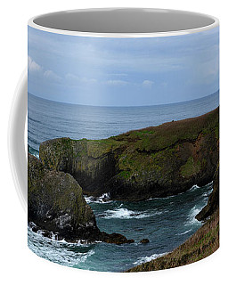 Stormy Yaquina Head Lighthouse Coffee Mug