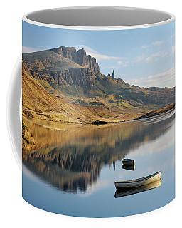 Coffee Mug featuring the photograph Storr Reflection by Grant Glendinning
