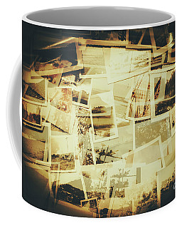 Storyboard Of Past Memories Coffee Mug