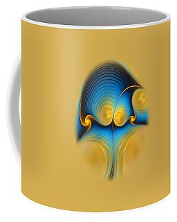Coffee Mug featuring the digital art Storyline by Anastasiya Malakhova