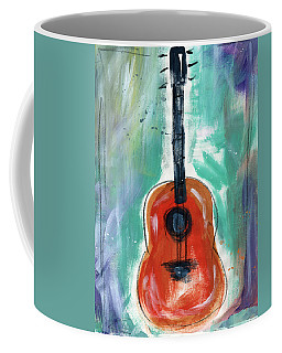 Storyteller's Guitar Coffee Mug