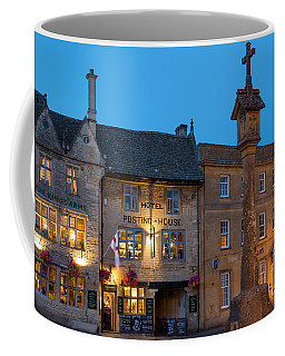 Coffee Mug featuring the photograph Stow On The Wold - Twilight by Brian Jannsen