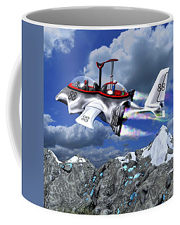 Stowing The Lift Coffee Mug by Dave Luebbert