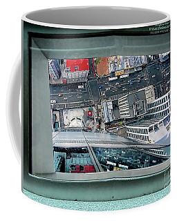 Straight Down Skyline 2 Coffee Mug by Jennie Breeze