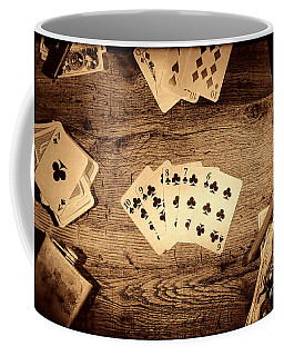 Straight Flush Coffee Mug