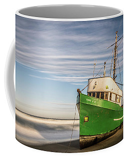 Stranded On The Beach Coffee Mug