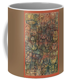 Strange Garden Coffee Mug by Paul Klee