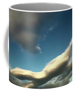 Coffee Mug featuring the photograph Strange Sky Critter by Nareeta Martin