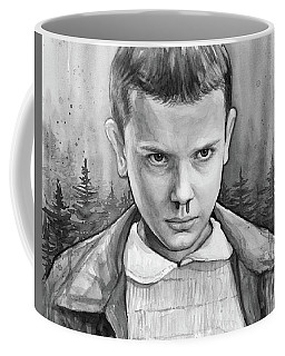 Stranger Things Fan Art Eleven Coffee Mug