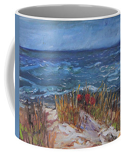 Strangers On The Shore Coffee Mug