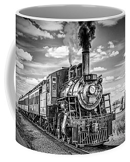 Coffee Mug featuring the photograph Strasburg Canadian National 89 by Nick Zelinsky