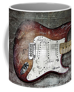 Strat Guitar Fantasy Coffee Mug