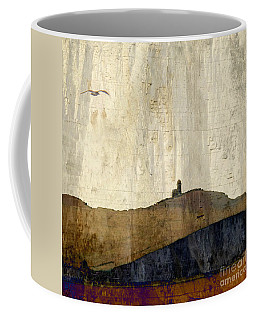 Strata With Lighthouse And Gull Coffee Mug