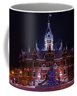 Stratford City Hall Christmas Coffee Mug