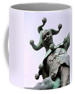 Stratford's Jester Statue Coffee Mug by Terri Waters