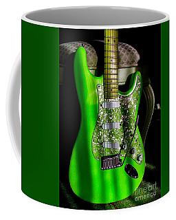 Stratocaster Plus In Green Coffee Mug