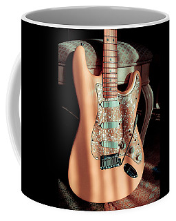 Stratocaster Plus In Shell Pink Coffee Mug