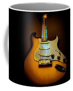 Stratocaster Tobacco Burst Glow Neck Series  Coffee Mug