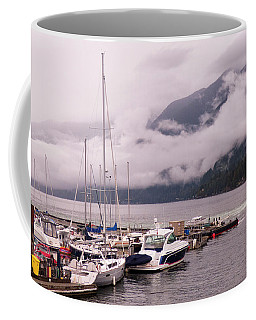Stratus Clouds Over Horseshoe Bay Coffee Mug