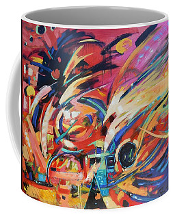 Coffee Mug featuring the painting Stravinsky by Gary Coleman