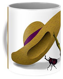Straw Hat And Horn Beetle Coffee Mug