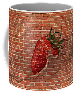 Strawberries And Cream Amazing Graffiti Coffee Mug