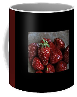 Strawberries Coffee Mug by Marija Djedovic