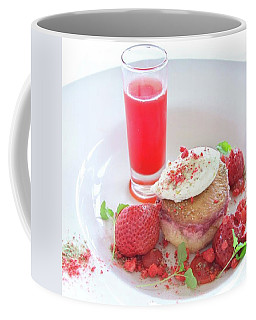 Strawberry Dessert Coffee Mug by Sugar N