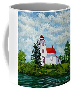Strawberry Island Lighthouse, Manitoulin Island Coffee Mug