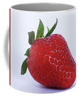 Coffee Mug featuring the photograph Strawberry by Julia Wilcox