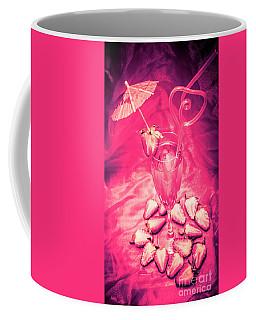 Strawberry Martini In Pink Light Coffee Mug