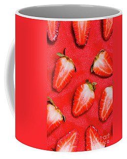 Strawberry Slice Food Still Life Coffee Mug