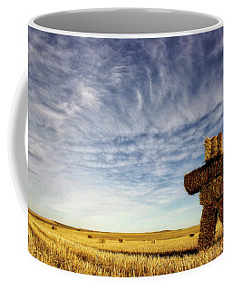 Strawman On The Prairies Coffee Mug